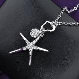 流行の一義的な星の吊り下げ式のアクセサリーの水晶吊り下げ式のネックレス