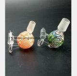 De roze, Groene Pijp van het Glas met de Pijp van de Waterpijp van de Spijker van de Sigaret van het Titanium