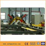 Linha de corte de perfuração da marcação do CNC para ângulos