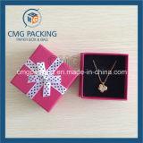 Boîte à bijoux personnalisée en haut et en bas (CMG-PJB-118)