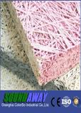 カスタムカラー使用できる木製ウールの音響パネル