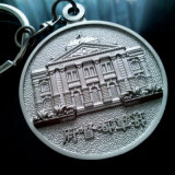 High Quality를 가진 Antique Customized Metal Souvenir Key Ring