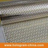 Gold Tamper Evident Embossing Aluminium Void Foil