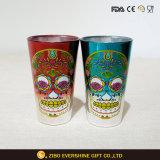 16oz het drinken van de Gegalvaniseerde Glazen van de Pint met de Dozen van het Glas van de Pint