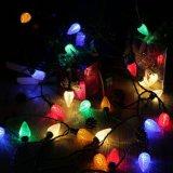 Listado UL 50 LED C6 de recuento de las luces de Navidad