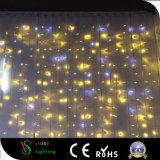 屋外および屋内LEDのカーテンライト