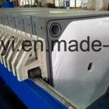 Нажмите кнопку автоматической очистки фильтра для обработки материалов