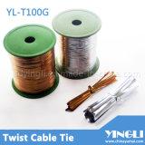 Twist riutilizzabile Tie in Different Length