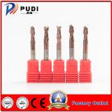 2 flautas Gen-HRC55 Ferramenta de máquina de carboneto de Sólidos