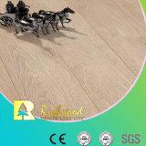 suelo laminado de madera de madera laminado roble del tablón del vinilo de 12.3m m E0 HDF