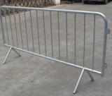 Barriera galvanizzata di controllo di folla del metallo/barriera di traffico, fabbrica della Cina, esportazione in Australia, Regno Unito, S.U.A., Giappone