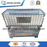 Contenitore resistente della rete metallica di Storag con il coperchio