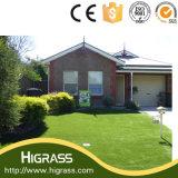 Alfombra artificial modificada para requisitos particulares de la hierba del césped del paisaje decorativo