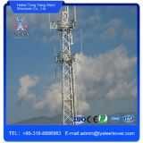 Stevige Ronde Communicatie van Guyed van de Antenne van de Microgolf van het Staal Toren