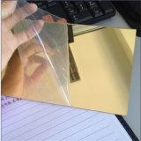 Зеркало заднего вида PMMA лист серебряные и золотые цвета 1мм 1,2 мм 1,5 мм 2 мм 3 мм
