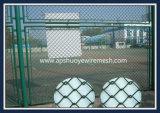 PVC galvanizado soldado malla de alambre cerca de la cadena de enlace para el patio de recreo