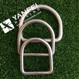 Het Roestvrij staal van de Prijs van de fabriek 304/316 Gelaste D-vormige ring voor Jasje