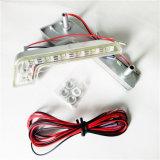 O anjo do carro da luz de névoa DRL do diodo emissor de luz 5050 SMD do carro da C.C. 12V da L-Forma do poder superior Eyes a luz Running Daytime
