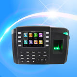 Биометрический фингерпринт и карточка RFID посещаемость времени с удостоверением личности (TFT600/ID)