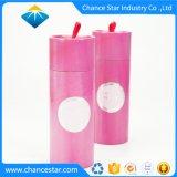 Kundenspezifischer runder Pappduftstoff-Kasten mit Schaumgummi-Einlage
