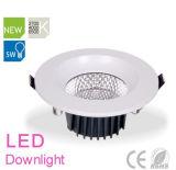 Kreisförmiger weißer Scheinwerfer der Leistungs-LED für Innen