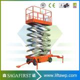 Proveedor chino hidráulico de elevación de tijera para vehículos