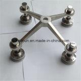 4 brazos de acero inoxidable Adaptador de araña de cristal, araña el soporte (H220A-4)