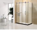 Pièce jointe rectangulaire structurale solide de douche pour la salle de bains