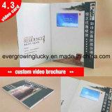 2.4-10.1inch écran LCD Carte de voeux vidéo personnalisée pour la publicité automobile