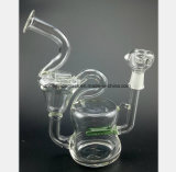 De Waterpijp van het Glas van de Tabak van het Recycling van de Aardolie van de Filtratie van de Pijp van het glas