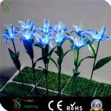 Luz artificial de la flor del LED para la decoración de la Navidad