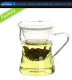 Freies füßiges Glaseiscreme-Nachtisch-Teller-Filterglocke-Cup