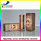 China Productos de impresión personalizada de papel plegable cosméticos caja de embalaje