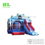 Fashionable Cool almofada insuflável gigante fascinante combinação de caminhões para o parque de diversões para crianças saltando Exercícios Desportivos