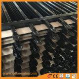 La parte superior de lanza de vallas metálicas para la venta