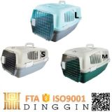 Voo de Plástico Pequena casinha de cachorro para venda animais de gaiola do Transportador
