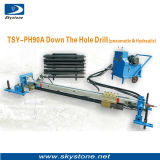 압축 공기를 넣은 & 유압 Tsy - Dh90 PH를 가진 구멍 기계의 아래 좋은 품질