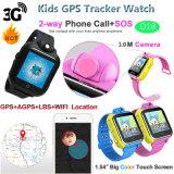 3G WiFi Verfolger GPS-Uhr mit Umdrehungs-Kamera (D18)