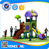 Children Plastic Slide Colorful Cheap Outdoor Playground Equipment (YL-Y055)