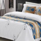 Bed van de Sjaal van het Bed van de Agent van het Bed van de Polyester van 100% werpt het Decoratieve (DPF1070)
