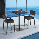 Табуретка штанги мебели гостиницы использующ для клуба Mading сплетенным ротангом Алюминия +Synthetic (YT538)