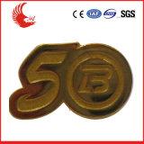 供給の安い習慣Pinのめっきの銀が付いている柔らかいエナメルのバッジ