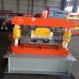 Tablier métallique feuille trapézoïdal jumeaux machine à profiler pour la vente de machines de toiture en métal