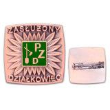 Randello personalizzato della moneta di Pin di barra del distintivo di Pin della polizia del blu marino dello smalto