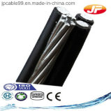 Алюминиевые кабели Abc проводника изолированные XLPE электрические (JKLYJ)