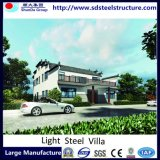 Flexible Modern Prefab House Light Steel Villa