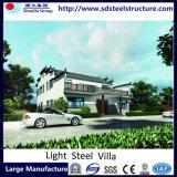 Moderna Casa Prefab flexível de aço leve Villa