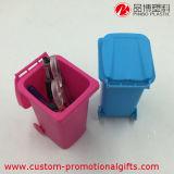 Abfalleimer-Muster-kundenspezifischer preiswerter Plastikfeder-Halter