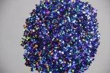 La poudre de scintillement de ressort est appliquée en peinture de jet de meubles de laque