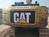 Lagarta usada muito boa hidráulica 320d da máquina escavadora da condição de trabalho da esteira rolante
